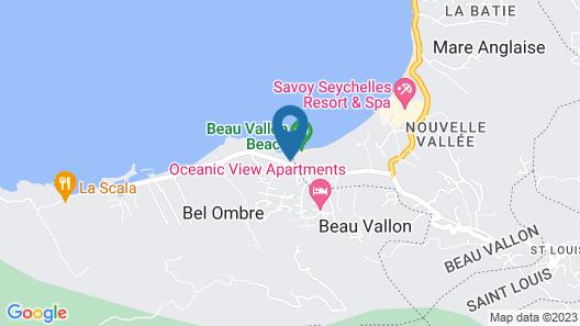 Fisherman's Cove resort Map