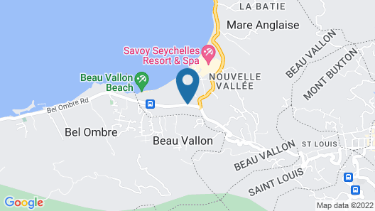 Berjaya Beau Vallon Bay Resort & Casino Map
