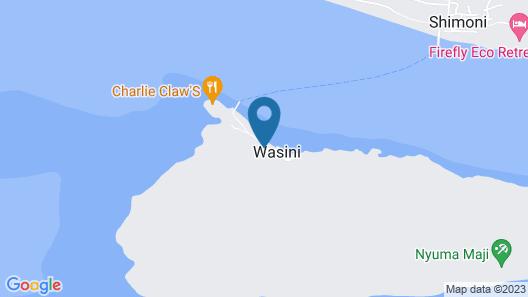 Wasini Raha Stay Map