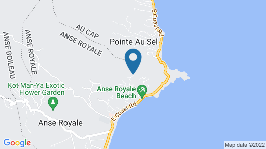 Ocean Terrace - Adults Only Map