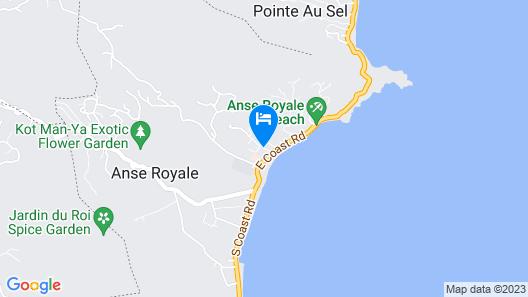 La Villa Therese Map