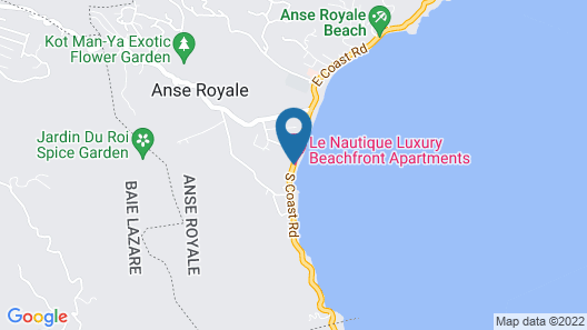 Le Nautique Luxury Beachfront Apartments Map