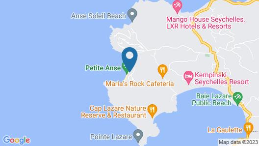 Four Seasons Resort Seychelles Map