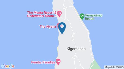 The Aiyana Resort & Spa Map