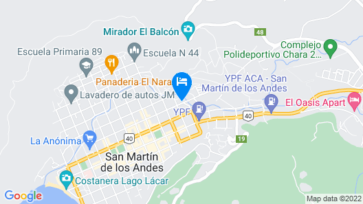Rotui Apart Hotel Map