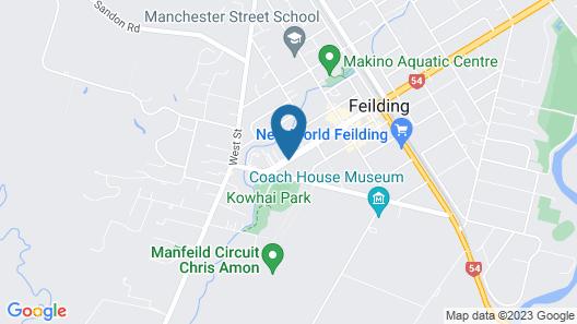 Feilding Motel Map