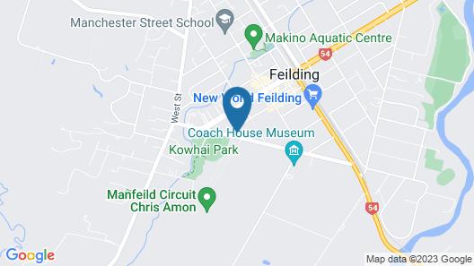 Manfeild Park Motel Map
