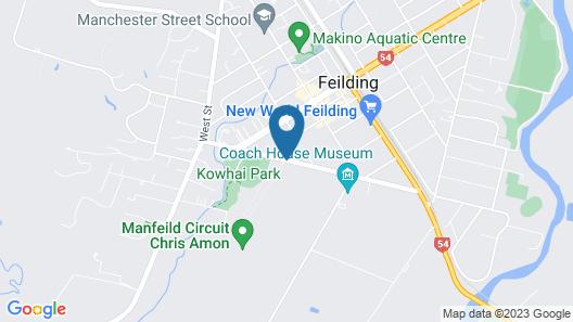 South Street West Motel Map