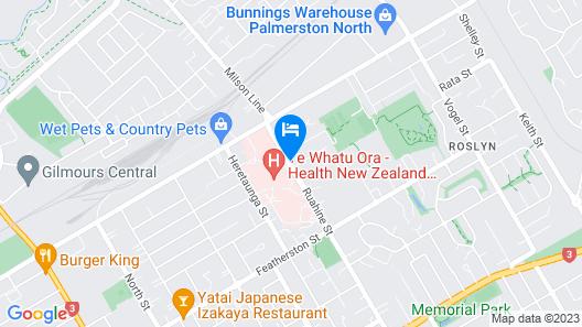 Carramar Motor Inn Map