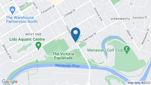Comfort Inn Kauri Court Map