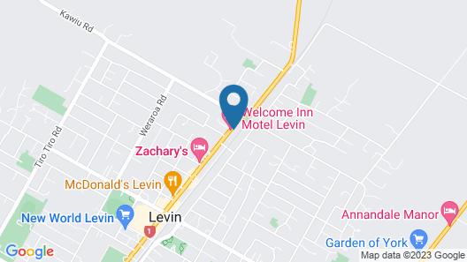Redwood Lodge Motel Map