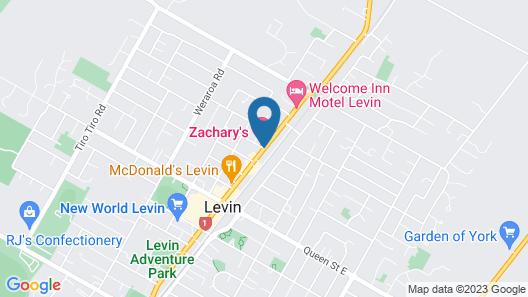 Zachary's Motel Map