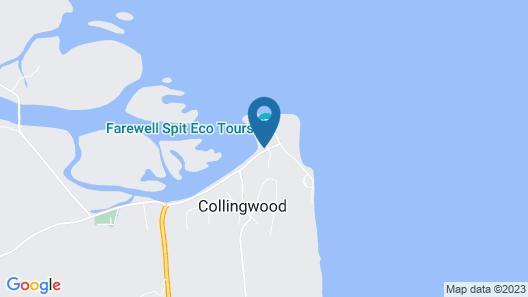 Collingwood Park Motel Map