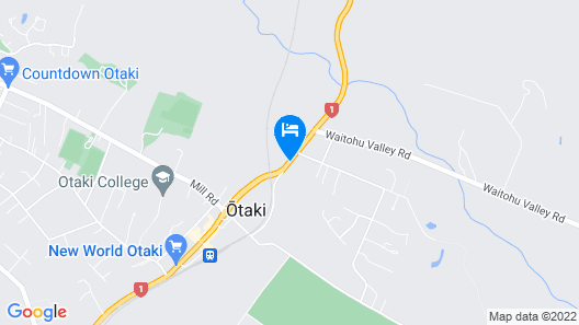 Cottage Park Motor Lodge and Conference Centre Map