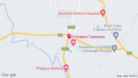 Tall Timbers Tasmania Map