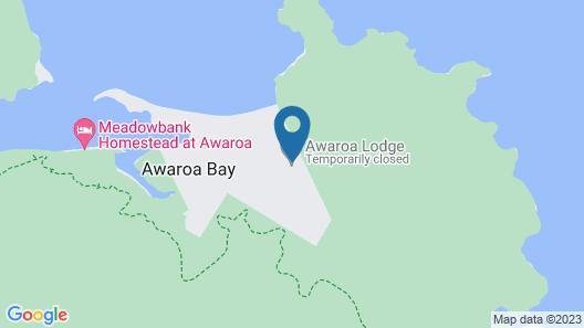 Awaroa Lodge Map