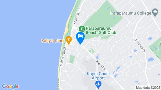 Asure Kapiti Court Motel Map