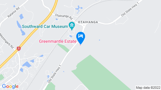 Greenmantle Estate Hotel Map