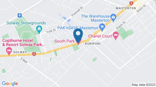 South Park Motel Map