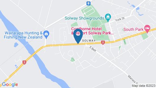 Copthorne Resort Solway Park Map