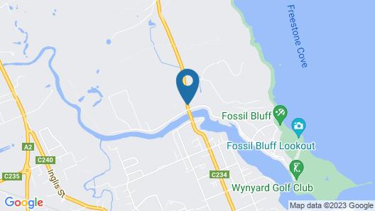 Alexandria Bed & Breakfast Map