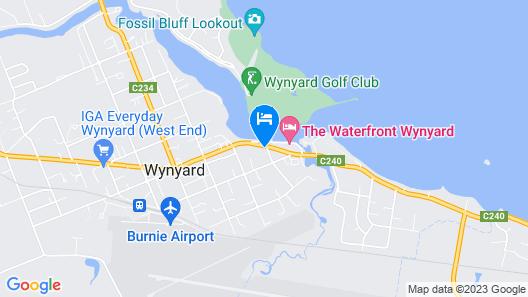 The Wharf Hotel Wynyard Map