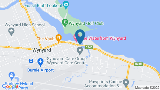 The Waterfront Wynyard Map