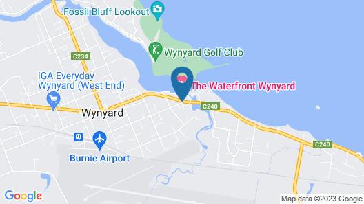 Coastal Pods Wynyard Map