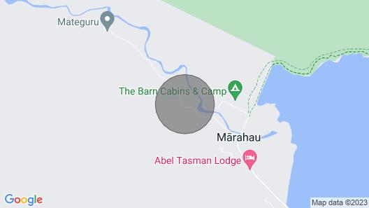 Tasman Hideaway - Marahau Holiday Home Map