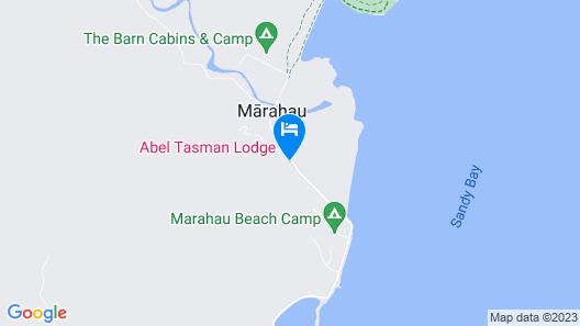 Abel Tasman Lodge Map