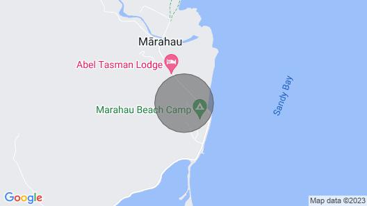 Tasman Treat - Marahau Holiday Home Map