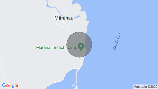 KARAKA  holiday cottage on the door step of the ABEL TASMAN NATIONAL PARK Map