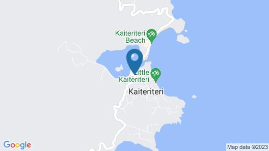 Kimi Ora Eco Resort Map