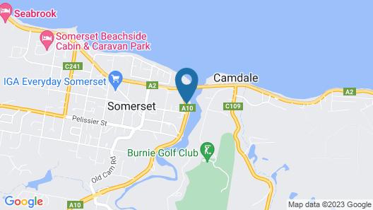 Best Western Burnie Murchison Lodge Map