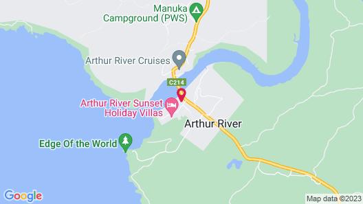 Arthur River Holiday Units Map