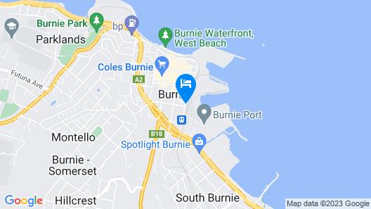 Burnie City Apartments Map