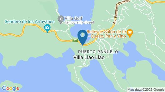 Llao Llao Hotel & Resort Golf-Spa Map