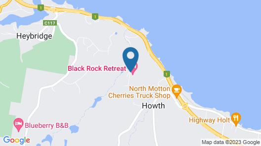 Black Rock Retreat Map