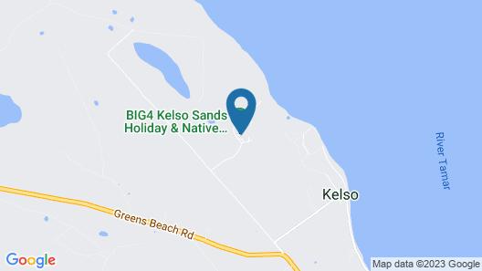 BIG4 Kelso Sands Holiday Park Map