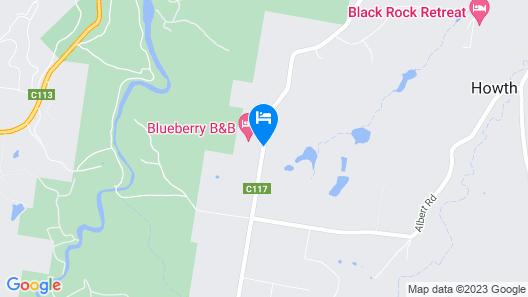 Blueberry B & B Map