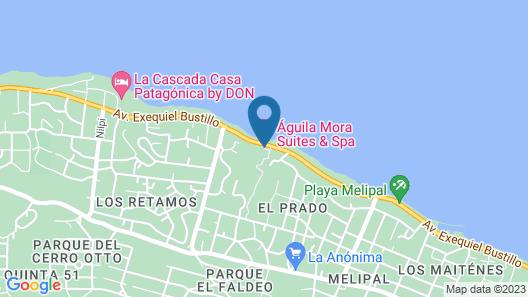 Aguila Mora Suites & Spa Map