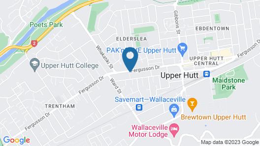 Hawks Inn Motel Map