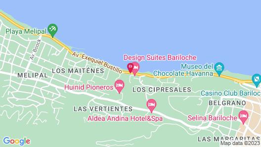 Design Suites Bariloche Map
