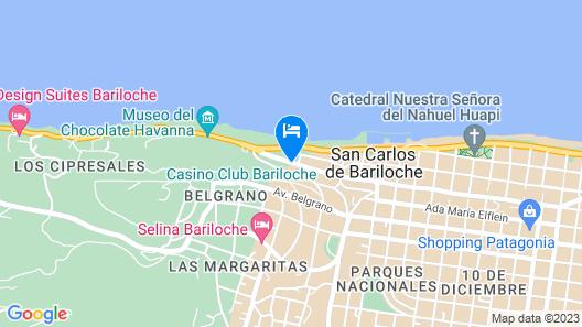 Hotel Panamericano Bariloche Map