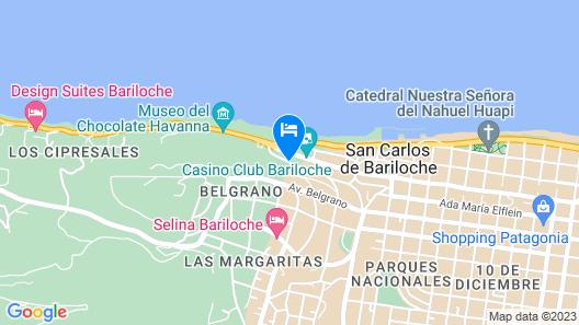 Marcopolo Inn Bariloche - Hostel Map