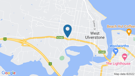 Seaview House Ulverstone Map