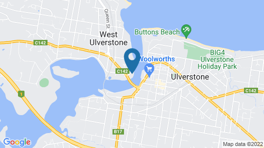 Ulverstone Waterfront Apartments Map