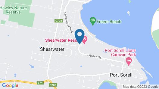 Shearwater Resort Map