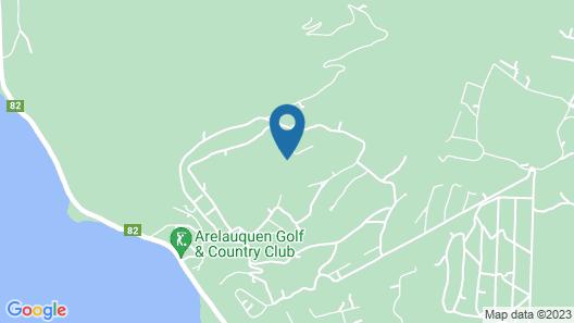 Arelauquen Lodge, A Tribute Portfolio Hotel Map