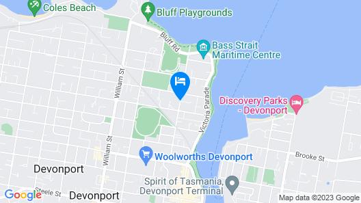 Barclay Motor Inn Map